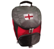 PATRIOT ENGLAND CRESTED FLAME GOLF SHOE BAG BY ASBRI