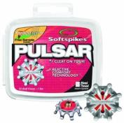 Softspikes Pulsar Golf Shoe Cleat Set- 6Mm Metal Thread