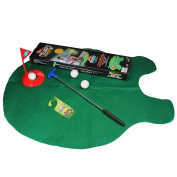 New Toilet Time Game Golf Practise Bathroom Game Gift