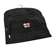PATRIOT ENGLAND CRESTED LEATHERETTE SUIT CARRIER BY ASBRI GOLF