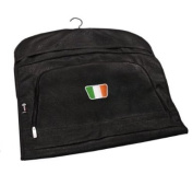 PATRIOT IRELAND CRESTED LEATHERETTE SUIT CARRIER BY ASBRI GOLF