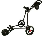 3 Wheel Golf Trolley - Black