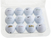 Second Chance Nike Lake Golf Balls 12 Pack - 21 x 16 x 5 cm, Clam