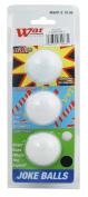 On Par 3 Joke Novelty Golf Balls Exploder/Jetstreamer/Unputtaball