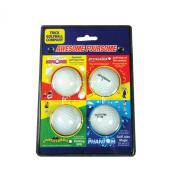 Trick Golfball Company Awsome Foursome Joke Golf Balls - White, 5.1cm