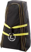 Longridge Deluxe Pull Trolley Cover Bag - Black/Yellow