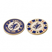 Chelsea Casino Golf Ball Marker - Blue
