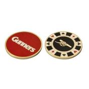 Arsenal Casino Golf Ball Marker - Black
