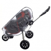 Waterproof Dustproof Zipper Golf Bag Rain Dust Cover--Clear