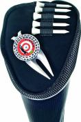 Longridge Magnetix Driver Cover Club Head Protector - Black