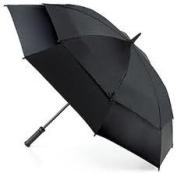 Fulton StormShield Double Canopy Golf Umbrella - Black