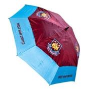 West Ham United Tour Vent Golf Umbrella - Claret/Blue