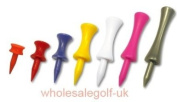 200 mixed castle golf tees - any mixture you like - all 7 sizes available