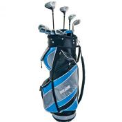 Longridge Women's Complete Quantum Golf Package Club Set - Black/Yellow/Silver