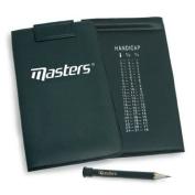Masters Score Card Holder Black