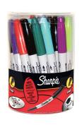 Sharpie Fine Assorted Marker Pen Tub of 36