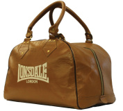 Lonsdale Authentic Leather Bag Mitt-Vintage Brown, Large/X-Large