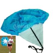100cm Speed Training Parachute Running Chute--Blue