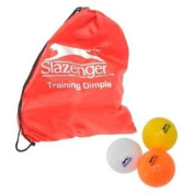 Slazenger Dimple Hockey Balls and Bag 12 Pack