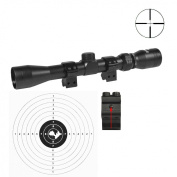 LENSOLUX 3 - 9 x 32 Rifle scope with Mounts SPECIAL OFFER!