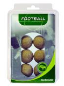 Carromco Table Football Balls Natural Cork Set of 6