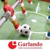 3 x Loose Garlando Black and White Table Football Balls