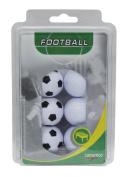 Carromco Table Football Balls 3x Black / White 3x White