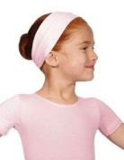 Girls cotton ballet headband/hairband pink/blue/white/mulberry/navy/lilac/lavender/black