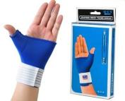Medical Elastic Thumb Strain Sprain Wrap Hand Palm Wrist Brace Splint Support Arthritis Pain GYM-Sports Training