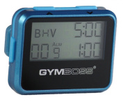 Gymboss Interval Timer and Stopwatch - TEAL / BLUE METALLIC GLOSS