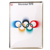 Montreal Olympic Poster 1976 Pin Badge
