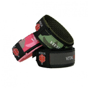 Medical Identity Bracelet. Adult & Child Medical ID Wristband by Vital ID. 100% Waterproof. Tearproof Insert Card. Store Emergency Contacts, Medications, Next of Kin.