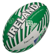 Gilbert Rugby World Cup 07 Ireland Supporter Ball Size 5