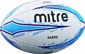 Mitre Kids Sabre Mini Rugby Ball - White, Mini