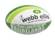 Webb Ellis Ireland Souvenir Item Supporter Ball - Green, Size 5