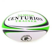 Centurion Nemesis Trainer Rugby Ball - Green, Size 5