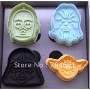 New 3d Cookie Cutter Star Wars Set Cookie Decoration Biscuit Mould