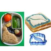 Dinosaur Shape Kids Lunch Sandwich Toast Cookies Biscuit Cutter Mould Mould Blue [jbw-012]