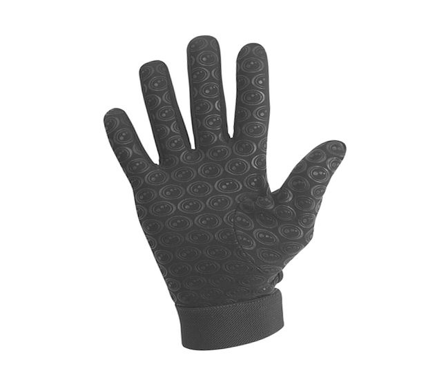 Plain-Black-Small-Optimum-Men-039-s-Velocity-Thermal-Rugby-Gloves