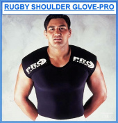 Proline Rugby Shoulder Glove Pro - Black