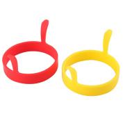 Silicone Egg Ring 2pcs  - 7.5cm