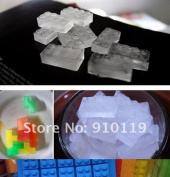 &  Buiding Block Silicone Ice Cube Tray Mould Maker Party Kitchen Diy Brick Ice Cream Mould Maker