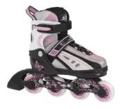 SFR Vortex Pink Inline Skates Size Large UK 3 - UK 6