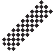Scooter Griptape - Black/White Chequered