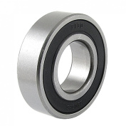 6205RS Black Rubber Sealed Deep Groove Ball Bearing 25 x 52 x 15mm