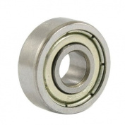 605Z 5 x 14 x 5mm Double Shielded Miniature Deep Groove Ball Bearings 5 Pcs