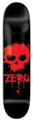 Zero Blood Skull Skateboard Deck - 8.0