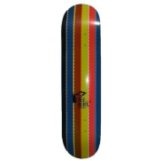 Red Rebel Skateboard Deck Rainbow 19cm