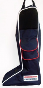 John Whitaker Boot & Glove Bag - Navy or Red