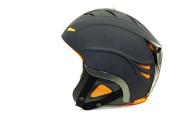NAVIGATOR RAVEN, ski helmet, snowboard helmet, BLACK, Size S
